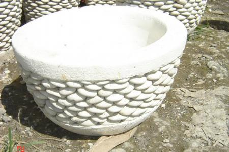 Beauty White Pot Planter