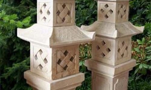 Stone Pagoda Garden Lantern