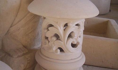 Carved Stone Lanterns