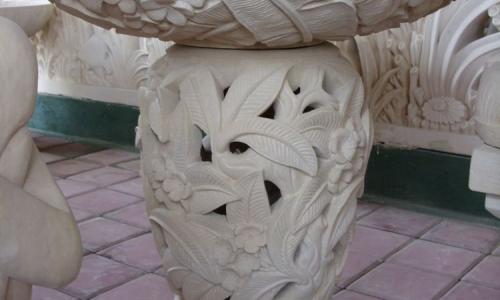 Carved Stone Garden Lanterns