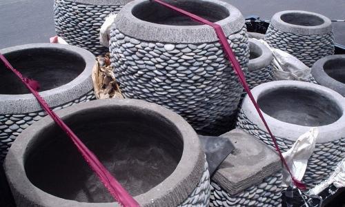 Bali Stone Pots