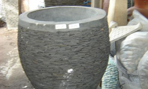 Stone Carved Pots