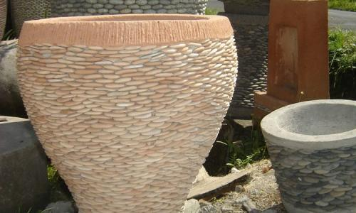 Stone Pot Planters