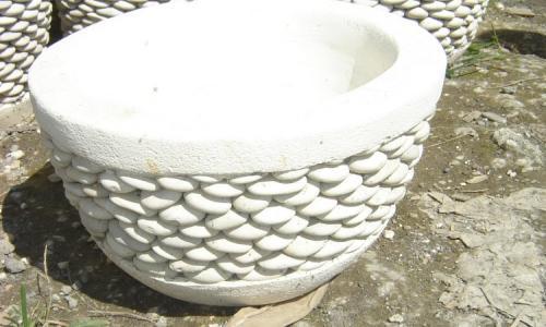 Beauty White Pot Planter