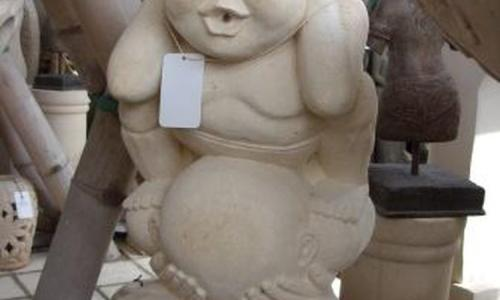 Bali Stone Modern Statue