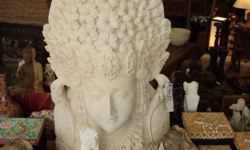 Balinese Dance Stone Statue