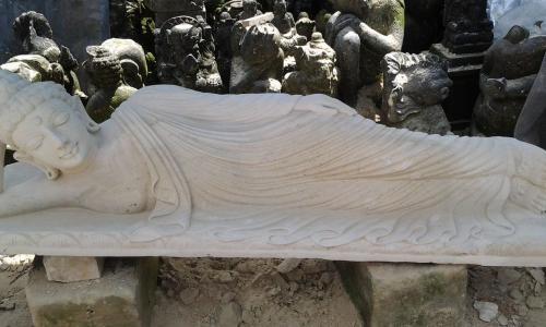 Stone Budha Statue Bali