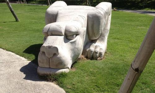 Carving Stone Statues In Bali Export