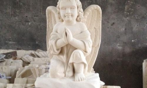 Stone Angel Statue Bali