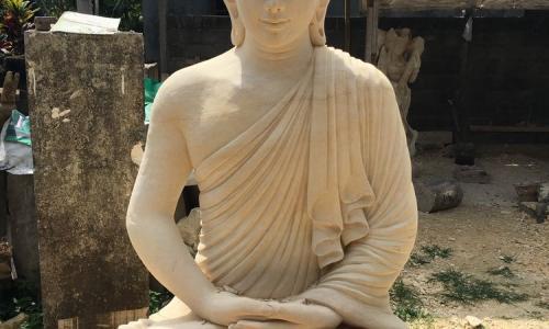 Bali Stone Buddha Statue