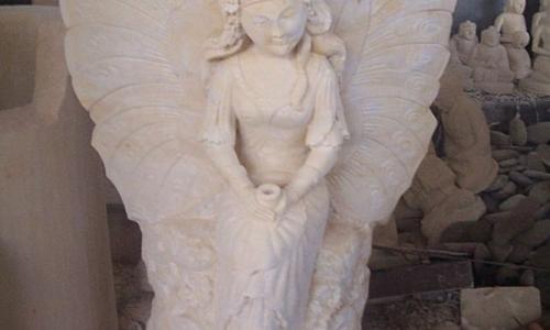 Bali Stone Angel Statue