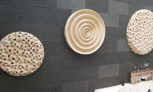 Bali Wall Panel Circle