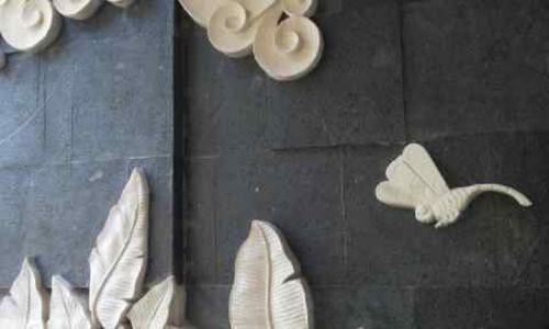 Balinese Stone Wall Panels