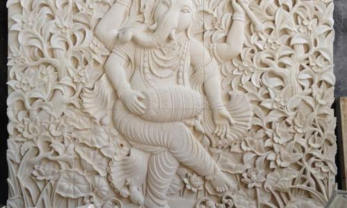Balinese Wall Art Panels Ganesha