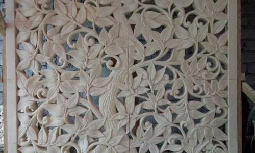 Carving Wall Panel