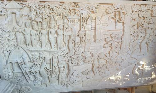 Stone Relief Wall Art
