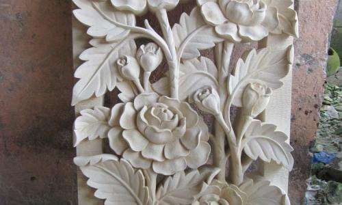Bali Stone Wall Relief