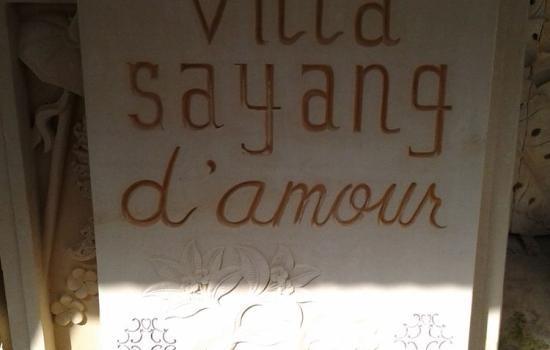 Carved Stone Address Marker