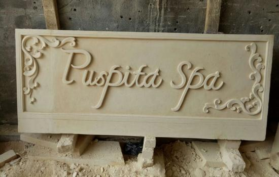Stone Carved Signs