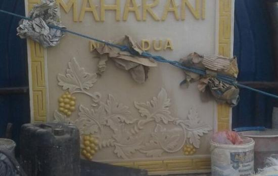 Stone Carving House Signs