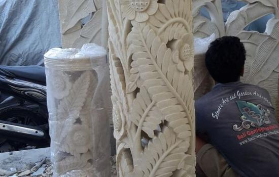 Carved Stone Lanterns