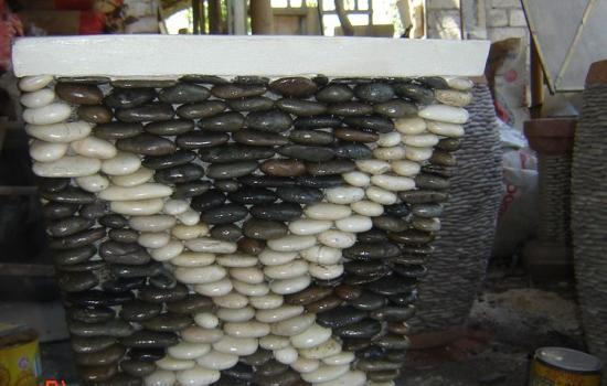 Natural Stone Planter Pot