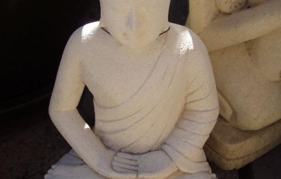 Bali Stone Carving Panel Budha