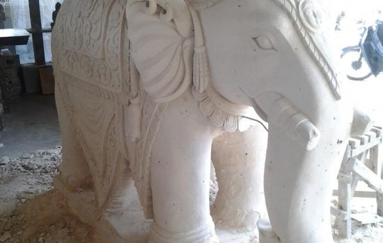 Balinese Sculpture Elephant Statues