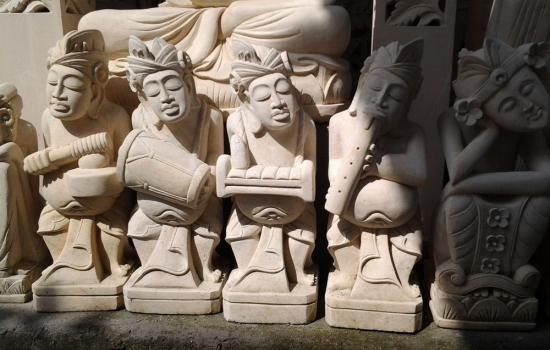 Carving Stone Statues