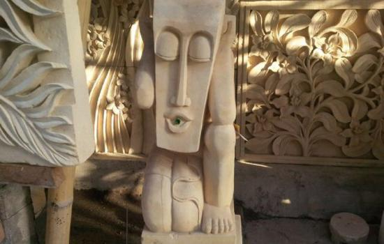 Batubulan Bali Stone Carving