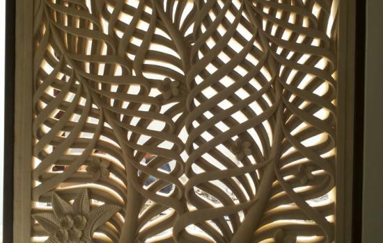 Bali Wall Relief Leaf