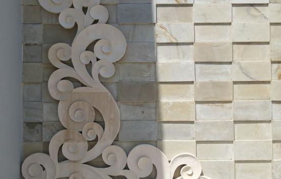Balinese Carved Stone Panels