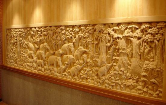 Balinese Stone Wall Panels Ellephant