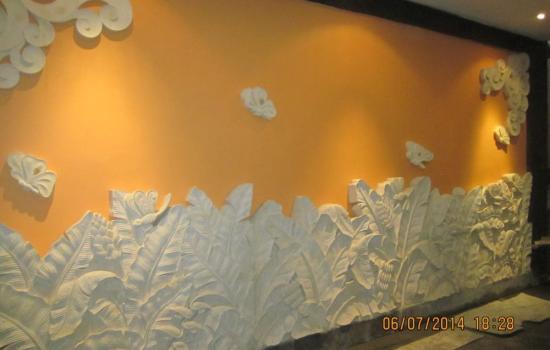 Carved Stone Panels Leaf