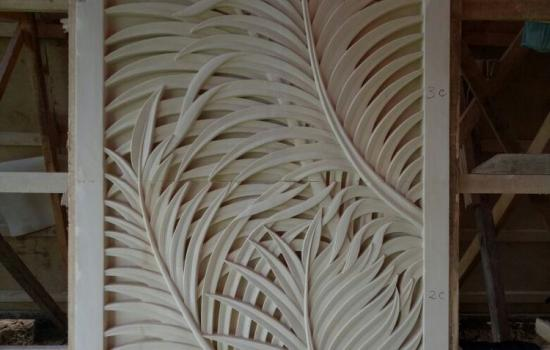 Carved Stone Panels