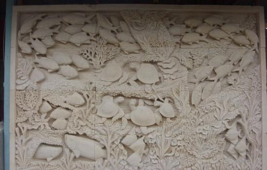 Balinese Wall Relief