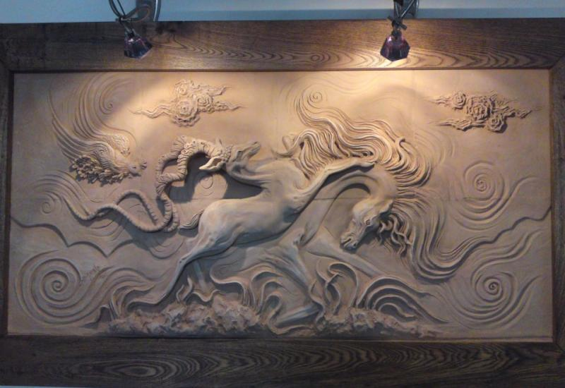 Handmade Sandstone Sculpture from Indonesia